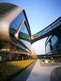 Lingkong SOHO Shanghai hongqiao niedaleki lotnisko Fotografia Royalty Free
