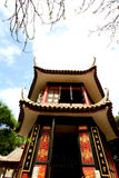 Lingnan garden GuTing Royalty Free Stock Photo