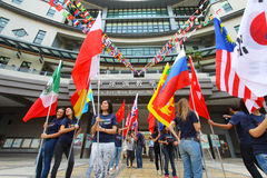 Lingnan University organizes International Day Stock Image