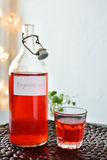 Lingonberry drink Royalty Free Stock Photography