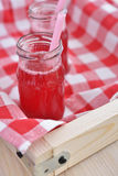 Lingonberry drink Stock Photos