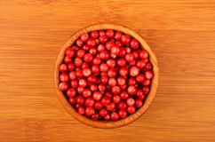 Lingonberry Vaccinium vitis-idaea Stock Photos