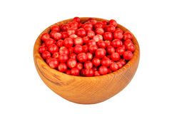 Lingonberry & x28;Vaccinium vitis-idaea& x29; Royalty Free Stock Photo