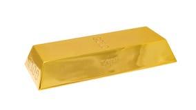 Lingote de ouro Fotos de Stock