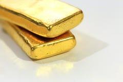 Lingote del oro Bar Fotos de archivo libres de regalías