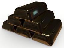 Lingote dourado Fotos de Stock