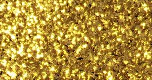 Lingotes de oro puro Fondo de oro Textura de la hoja de oro imágenes de archivo libres de regalías