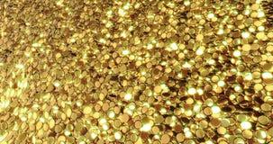 Lingotes de ouro puro Fundo dourado Textura da folha de ouro foto de stock royalty free