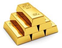 Lingotes do ouro