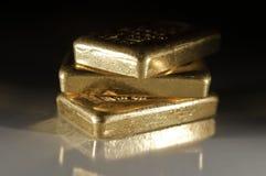 Lingotti dell'oro Immagine Stock Libera da Diritti