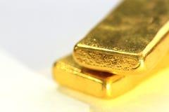 Lingotto dell'oro Bar Fotografia Stock