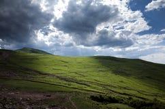 Lingshan-Berge Lizenzfreie Stockbilder