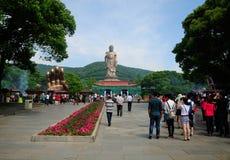 Lingshan Bouddha Chine Images libres de droits
