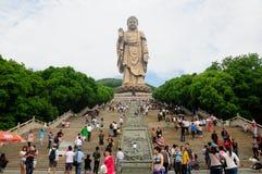 Lingshan Buddha China Lizenzfreie Stockfotografie