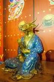 Lingshan Buddha Scenicznego terenu Lingshan pałac Halny Watykański zodiak Zdjęcie Stock