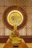 Lingshan Buddha Scenicznego terenu Lingshan pałac Halny Watykański zodiak Zdjęcia Stock