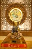 Lingshan Buddha Scenicznego terenu Lingshan pałac Halny Watykański zodiak Zdjęcia Royalty Free