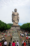 Lingshan Buddha Wuxi China Stock Photo