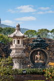 """Lingshan Giant Buddha Scenic Area """"down Monsters Road"""" large copper sculpture Royalty Free Stock Photo"""
