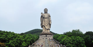 Lingshan Grand Buddha Stock Images
