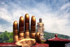 Lingshan Grand Buddha Scenic Area Wuxi stock photo