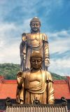 Lingshan Grand Buddha Scenic Area Wuxi double buddhas Royalty Free Stock Photography