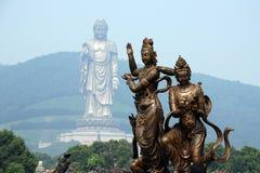Lingshan großartiger Buddha Lizenzfreie Stockbilder