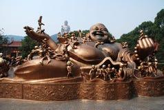 Lingshan großartiger Buddha Stockbilder