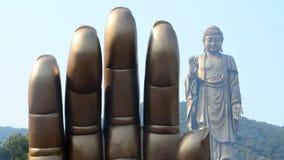 Lingshan kein Buddha 1 Stockfotografie