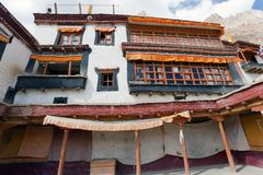 Lingshed gompa - buddhist monastery in Zanskar valley - Ladakh - India Stock Images