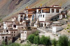 Lingshed gompa - Zanskar valley - Ladakh - India Royalty Free Stock Images