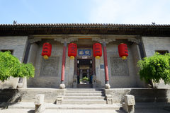 Lingshi County, Shanxi Province Wang Family Courtyard Stock Images