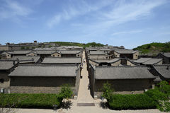 Lingshi-Grafschaft, Shanxi-Provinz Wang Family Courtyard Stockfotos