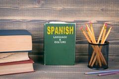 Lingua spagnola e concetto della cultura immagini stock