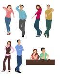 Linguagem corporal Fotografia de Stock