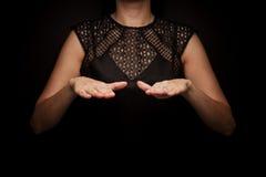 Linguagem gestual da palavra Foto de Stock Royalty Free