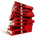 Linguaggi del mondo Fotografia Stock Libera da Diritti