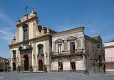 Linguaglossa, Sicily, Italy Stock Image