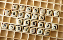 Lingue straniere Immagini Stock