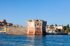 Linguella Tower, Portoferraio, Elba Island Royalty Free Stock Photo