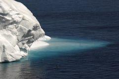 Linguetta antartica del ghiaccio Fotografia Stock