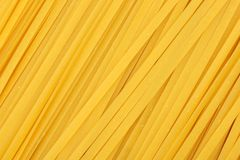 Linguine pasta background Stock Images