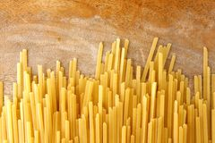 Linguine pasta Royalty Free Stock Photography