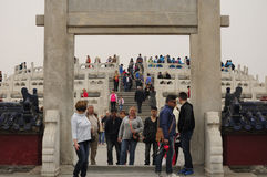 Lingxing Gate Temple of Heaven Beijing China Stock Image