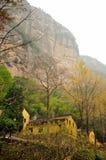 Lingyantempel Yandang Shan Stock Foto