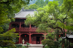 Lingyin Temple Royalty Free Stock Photography