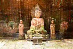 Lingyun Shan Mountain leshan porslin Fotografering för Bildbyråer