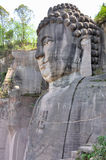 Lingyunshan Giant Buddha Royalty Free Stock Images
