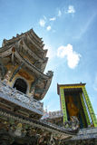 Linh Phuoc塔寺庙 库存图片