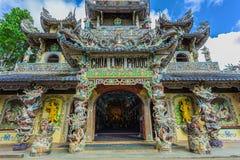 Linh Phuoc pagoda at Da Lat City, Vietnam. Stock Photo
